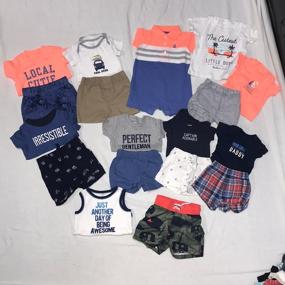 458b57eb42 Carter's Other | Carter Boys Lot Of Summer Clothes 3 6months | Poshmark
